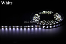 [Seven Neon]DHL shipping 100meters Black FPBC board white/WW/RED/Blue/yellow 60leds/meter IP65 waterproof 3528 led smd strip