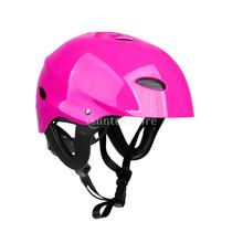 CE Certification M/L Green/ Rose Lightweight Adjustable Safety Helmet for Kayaking Canoeing Water Sports Boating Water-skiing