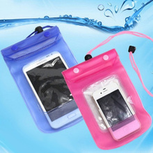 1pcs portable travel 5.5 inch Waterproof Pouch Water Proof Diving storage receive Bags Outdoor Phone Cases Bag Protection cover