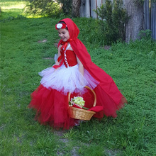 Buy Halloween Kid Child Girl Cosplay Costume Carnival Suit Party Costume Dress+cloak Red Riding Hood Costumes Child for $17.50 in AliExpress store