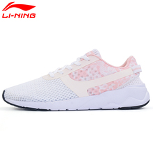 Li-Ning Women's Heather Sports Life Walking Shoes Leisure Breathable Sneakers Light Sports Shoes AGCM054 YXB042(China)