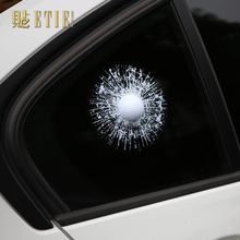3D Car Styling Ball Car Sticker Golf Window 3M Vinyl Wrap Funny Sticker Pegatinas Aufkleber MINI Car Accessories Die Cut Sticker
