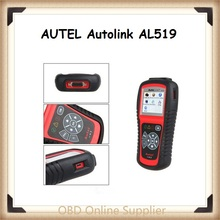 Original Color Screen AUTEL Autolink AL519 OBDII/CAN Scan Tool Retrieves Generic Turn off Check Engine Light Free online update