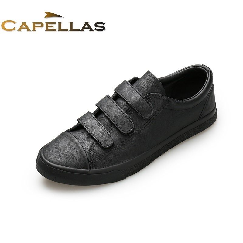 CAPELLAS  New Arrival Autumn Mens Casual Shoes British Style Fashion Shoes for Men Shoes Warm Men`s Leather Shoes Zapatos 39-44<br>