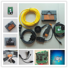 For bmw car and motorcycle diagnostic tool ICOM a2 b c d 4in1 all cables with newest software expert mode 500gb hdd super