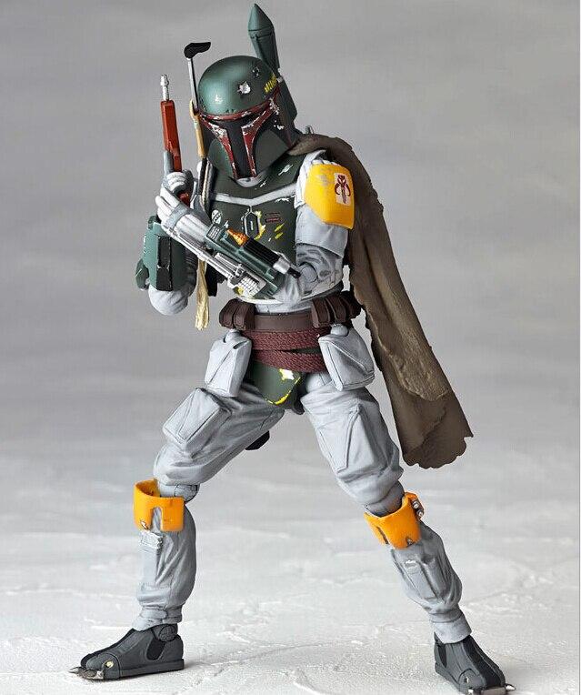 Star Wars Boba Fett Action Figure PVC Revoltech 150mm Anime Movie Toys Boba Fett Star Wars Action Figures Revoltech Toy<br><br>Aliexpress