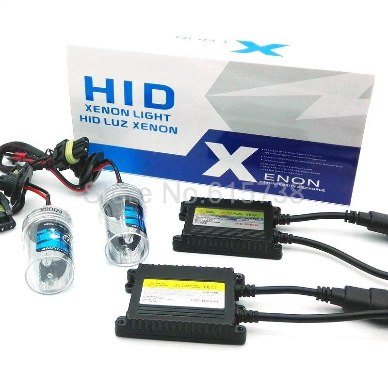 AC 35W xenon kit car headlight h11 auto  hid xenon 6000k 4300k xenon lamps hid bulbs h8 h9 h1 h3 h7 hb3 hb4 880 881 9005 <br><br>Aliexpress
