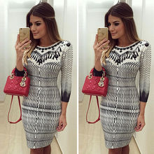 Buy Fashion New Women Long Sleeve Sexy Mini Dress Ladies Clothes Summer Print Hot Dresses Casual Clothing for $6.35 in AliExpress store