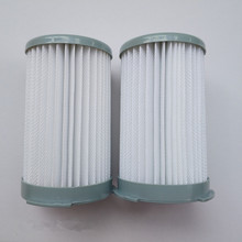2pcs/lot Vacuum Cleaner Cartridge Pleated HEPA Filter EF75B Replacement Electrolux ZS203 ZTI7635 ZW1300-213 vacuum cleaner part
