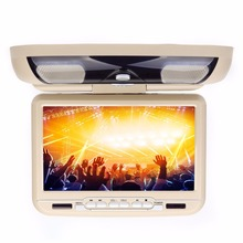 "9""Car Flip Down Roof Mounted DVD Player USD/SD Game IR/FM  headup display Overhead Ceiling DVD Media Player"