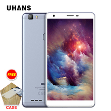 Uhans S3 Mobile phone 6.0Inch IPS HD 16GB ROM 1GB RAM 8MP Camera MTK6580A Quad Core 3100mAh Fingerprint ID Moive Game Smartphone
