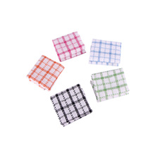 Top rated Super Absorbent QF176 Checkered 30cm * 30cm Kitchen Dish Towel