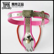 Buy NEW chastity lock stainless steel chaastity belt female bdsm bondage restraints sex slave erotic toys sex tools sale