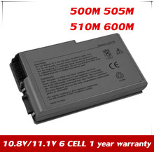 JPYUASA 11.1V 5200mAh Battery For DELL Latitude D500 D505 D510 D520 D530 D610 D600 500m 510m 600m W1605 YD165 G2053A01 C1295(China)