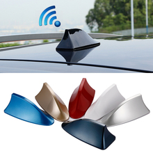 Universal Car Roof Shark Antenna Car Radio Aerials Shark Fin Antenna Signal Auto Car Styling Accessories High Quality