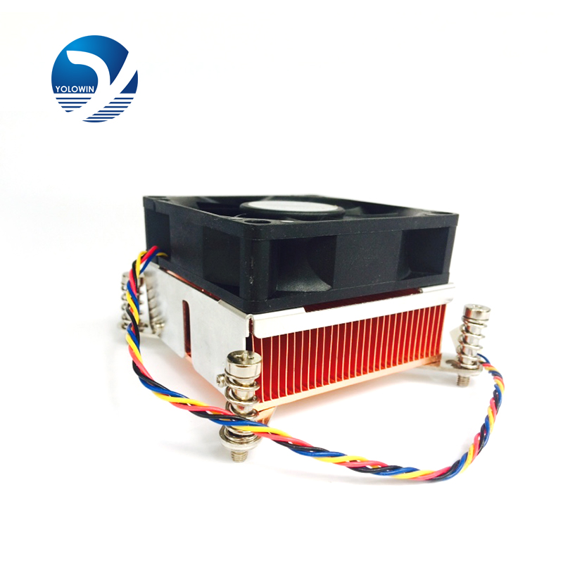 PU Radiator Computer Cooler Fan Highly Efficient Aluminum 90*90*48mm Heatsink Compatible With CPU Computer YL-0035-1<br>