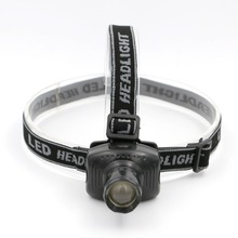 Hot selling Mini LED Zoomable Headlamp headlight 3 Mode Energy Saving Outdoor Sports Camping Fishing Head Lamp LED Flashlights