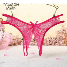 Buy Comeonlover Atractivas bragas tanga mujer open crotch micro panties lace crotchless underwear tangas women sexy brief PL5132