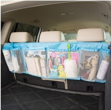 Auto Car Seat Back Large-capacity Hanging Bag Organizer Holder Bag for Toys Back Cushion Book Cleaning Brush Stuff Multi-Pocket