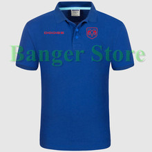 DODGE car logo Polo shirt 4S shop short sleeved polo shirt overalls women and mens