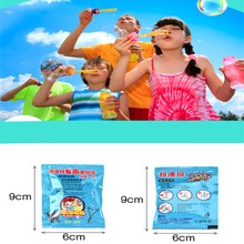 10ml Soap Bubble Concentrate toy bubbles liquid Children Gazillion soap bubbles water for kids