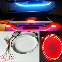 Homeyard 120cm 335 LED Dynamic Streamer Tailgate LED Strip Light Bar Turn Signal Function for Ford Pickup GMC Dodge Truck