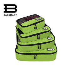 BAGSMART 2017 Travel Accessories Clothing Luggage Packing Breathable Travel Bags For Shirt Pants Bra Socks Shoe Makeup Wash Bag(China)