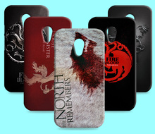 Ice and Fire Cover Relief Shell For Motorola G2 Moto G+1 XT1069 Cool Game of Thrones Phone Cases For MOTO X+1 XT1097