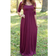 Belva 2016 Summer Long Breathable Maternity Dresses Maternity Photography Props Pregnant Clothes Pregnant Dress Women Dress 37