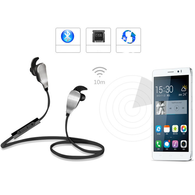 Desxz H901 Wireless Bluetooth 4.0 Earphones Running Headphones In-Ear Stereo Sport Headset for iPhone iPad iPod Xiaomi MP3 Phone<br><br>Aliexpress