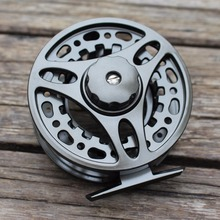 7/8 Aluminum Fly Fishing Reel Left and Right Handed Changeable Disc Drag System Reel Diameter 95mm(China)