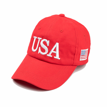 2017 The Most Popular USA Trump 45 President Red Baseball Cap men&women Fashion Cap Hat(China)
