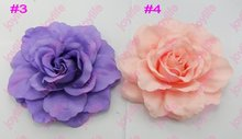 free shipping 2017 Newest  150pcs daisy gerbera flower clips peony hair clip mix lily flower clips and rose flower clips 1a
