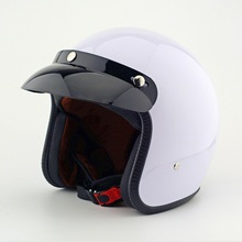 White halley Motorcycle helmet electric car high quality half face open face helmet Nuoman(China)