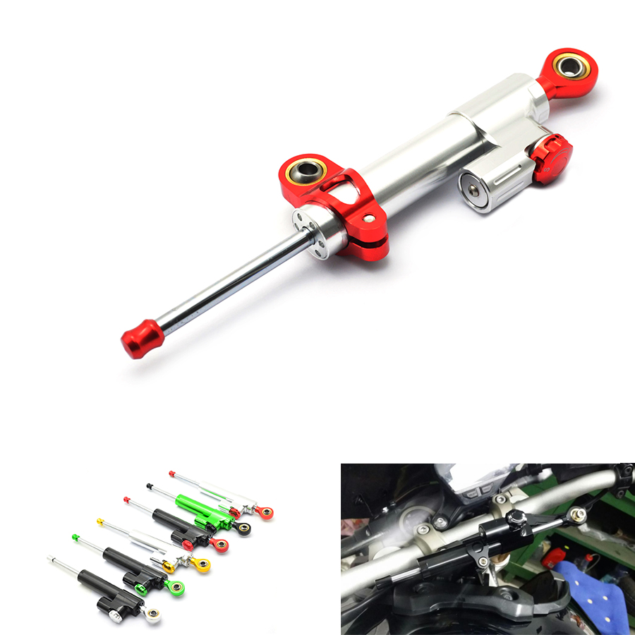 For suzuki honda Kawasaki Z750 Z800 Z 750 Z 800 Universal Motorcycle Accessories Stabilizer Damper Steering Mounting All Year<br>