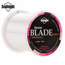 SeaKnight BLADE 500M Nylon Fishing Line 2-35LB Japan Material Monofilament Carp Fishing Line Rope Saltwater Linha Fishing Teckle