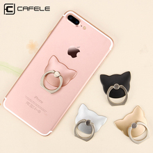 Buy CAFELE Finger Ring Mobile Phone Universal Cat Stand Holder iPhone X 8 7 6 SE Huawei P20 Xiaomi Samsung S9 S8 Smart Phone for $1.32 in AliExpress store