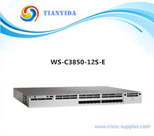 WS-C3850-12S-E 12 Port Switch Gigabit Ethernet 10/100/100 Switches