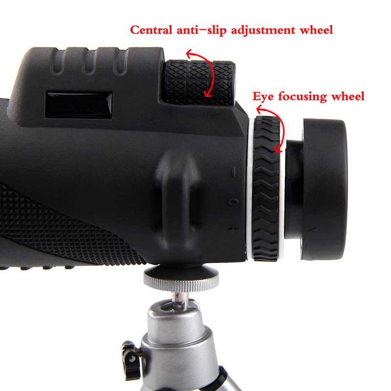 HD 40x60 Monocular High Definition Telescope for Mobilephone Low Light Night Vision RL38-0006-05
