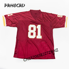 Retro star #81 Art Monk Embroidered Throwback Football Jersey(China)
