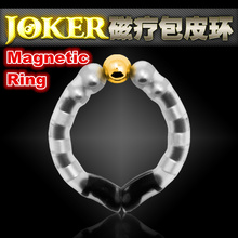 Joker super Magnetic Penis Rings, Cure foreskin, DIY length and V bracket cock rings, Sex products for men cockring.