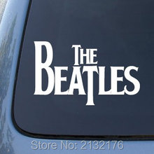 "The Beatles Die Cut Vinyl Sticker for Car Windows Bumper Truck Laptop Ipad Computer Skateboard Motorcycle White 6""W car covers"