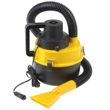Portable Wet Dry 12V Car Vacuum Cleaner Handheld Mini Auto Car Dust Vacuum Cleaner With Brush Crevice And Nozzle Head
