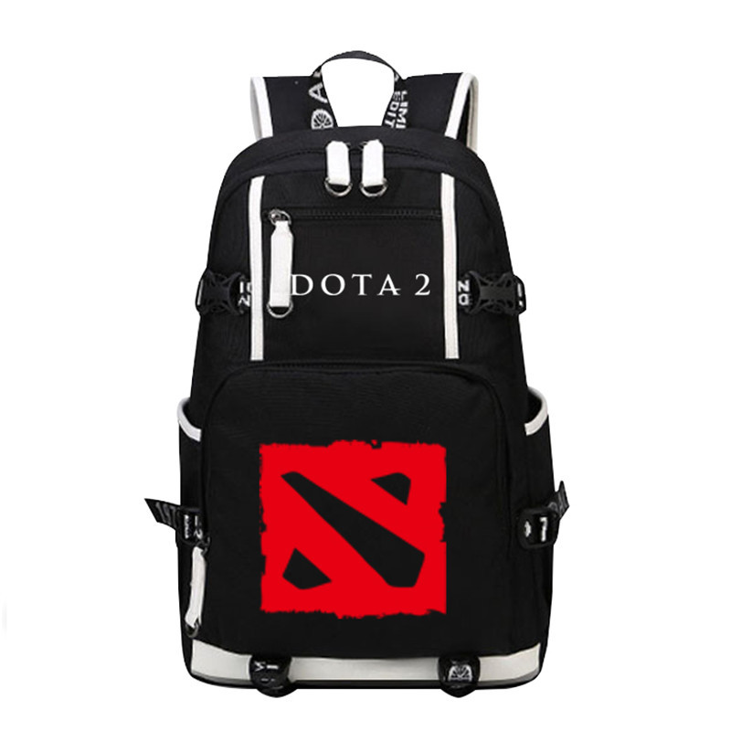 High Quality 2017 New Game Dota Backpack Large Capacity School Bags Laptop Travel Bag<br>