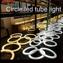 AC85-265V G10Q T10 Aluminium die casting circle led tube light 11W led circular fluorescent tube  free shipping 3 years warranty