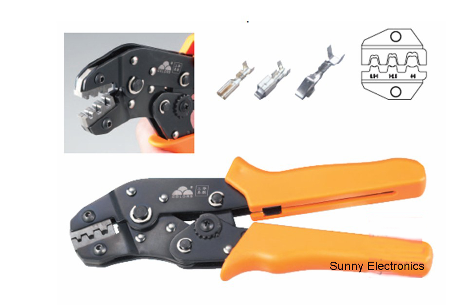 SN-28B Non-Insulated Tabs Terminals Crimper Professional Crimping Tool for Dupont Connector  AWG 28-18<br><br>Aliexpress