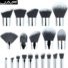 Buy Retail JAF Custom Makeup Brush Set DIY Synthetic make brush kit foundation brush eye shadow fan brushes eyeshadow for $2.97 in AliExpress store