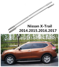 For Nissan X-Trail 2014.2015.2016.2017 Car Roof Racks Luggage rack High Quality Brand New Aluminium Auto Accessories