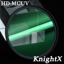 KnightX HD MCUV MC 49mm 52mm 55MM 58MM 62 67MM 72MM 77MM FILTER UV LENS for Nikon canon t3i D3100 D3200 D5200 D7100 d5300 d3300(China)