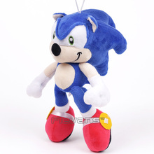 Sonic the Hedgehog Plush Toy Soft Stuffed Pendant Doll Christmas Birthday Gift 24cm(China)